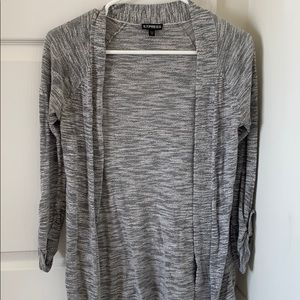 Express open style cardigan